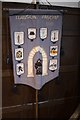 SJ2028 : St Silin's Church: A Banner by Bob Harvey