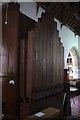 SJ2028 : St Silin's Church: Organ pipes by Bob Harvey