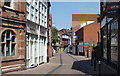 SK5804 : Cank Street in Leicester city centre by Mat Fascione