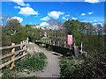 SE2440 : Bridge over the Leeds-Harrogate railway line by Stephen Craven