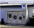 SD3347 : Open air launderette by Steve Daniels