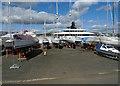 NS2975 : Super yacht Pi at Greenock by Thomas Nugent