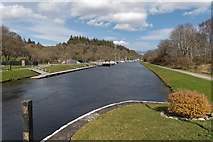 NH6140 : Caledonian Canal at Dochgarroch by valenta