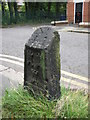 NZ2467 : Old Boundary Marker by Mike Rayner