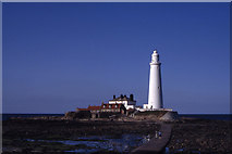 NZ3575 : St Mary's Lighthouse, Whitley Bay by Colin Park