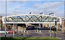 NZ2563 : Railway bridge beside Askew Road by Trevor Littlewood