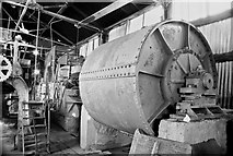SK0305 : Potters Clay and Coal Co, Brownhills - processing machinery by Chris Allen
