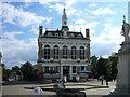 TQ0371 : Staines Town Hall, when it was a pub by Sean Davis
