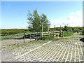 SE2032 : Access road off Tyersal Lane by Stephen Craven