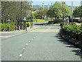 NZ3467 : Bus Stop, Coble Dene by David Dixon