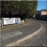 SZ0794 : Ensbury Park: Ensbury Close by Chris Downer