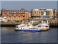 NZ3567 : The Shields Ferry, South Shields Landing Stage by David Dixon