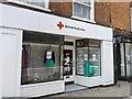 TF0920 : Closed charity shop by Bob Harvey