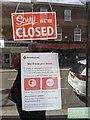 TF0920 : Charity shop closed by Bob Harvey
