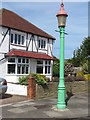 NZ3372 : Sewer Gas Lamp, Brantwood Avenue, Monkseaton by Geoff Holland