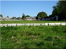 SO9095 : Cricket Pitch by Gordon Griffiths