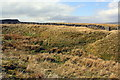 SD8987 : Footpath passing stream and gate in dry stone wall to Burtersett High Pasture by Roger Templeman