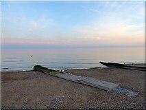 TQ2704 : Outfall, Aldrington Beach by Simon Carey