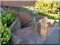 SE2635 : The brick seat, Kirkstall Lane by Stephen Craven