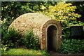SJ2106 : Powis Castle icehouse in 1990 by Richard Law
