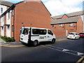 ST3188 : RAS white van, Rodney Road, Newport by Jaggery