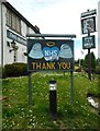 NS5573 : Thank you NHS angels and key workers by Richard Sutcliffe