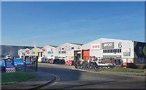 TQ1983 : Grand Union Industrial Estate by Des Blenkinsopp