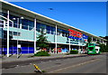 ST3486 : Reduced opening hours at Tesco Extra in Newport Retail Park by Jaggery