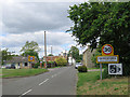 TL4948 : Entering Pampisford on Town Lane by John Sutton