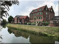 TF2522 : Former riverside warehouses next to The River Welland in Spalding by Richard Humphrey