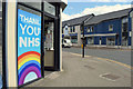 H4572 : Thank you NHS poster, Omagh by Kenneth  Allen