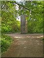 SD7706 : Rückriem Stone on the Outwood Trail by David Dixon
