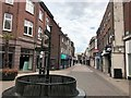 TF6120 : A deserted High Street in King's Lynn - 1 by Richard Humphrey