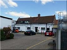 SK6835 : Buildings at Cropwell Bishop Creamery by Alan Murray-Rust