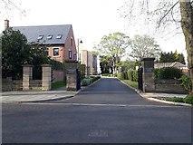 NZ2567 : Former school gateway, Jesmond by Graham Robson