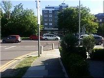 TQ2688 : Greenhalgh Walk at the junction of Lyttelton Road by David Howard