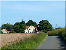 TR3451 : First house in Great Mongeham by Robin Webster