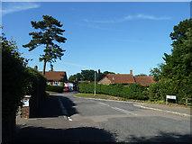 TR3749 : Junction of Hawksdown Road and Gram's Road, Walmer by Robin Webster
