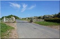 SE7286 : Cattle grid on Headlands Road by Ian S