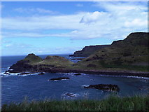 C9444 : Portnaboe bay and Giant's Causeway behind by Martyn Pattison
