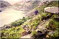 NG4819 : Path on the Coruisk shoreline by Claire Bradbury