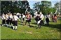 SP1339 : Morris dancers at the Cotswold Olimpicks by Philip Halling