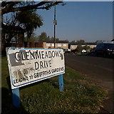 SZ0696 : Kinson: Glenmeadows Drive by Chris Downer