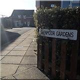 SZ0794 : Ensbury Park: Glenmoor Gardens by Chris Downer