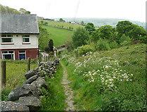 SE0027 : Wadsworth Footpath 75, Link 10, Chiserley by Humphrey Bolton