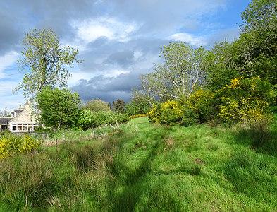 NJ3457 : Field Entrance by Anne Burgess