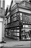 SJ6552 : 46 High Street, Nantwich – 1963 by Alan Murray-Rust