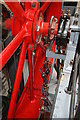 SD6909 : Bolton Steam Museum - governor of the Kenyon's engine by Chris Allen