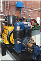SD6909 : Bolton Steam Museum - engine and dynamo by Chris Allen