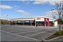TQ6042 : KFC, Greggs, Subway & Costa by N Chadwick